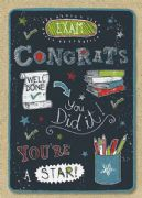 Exam Congrats You Did It Card